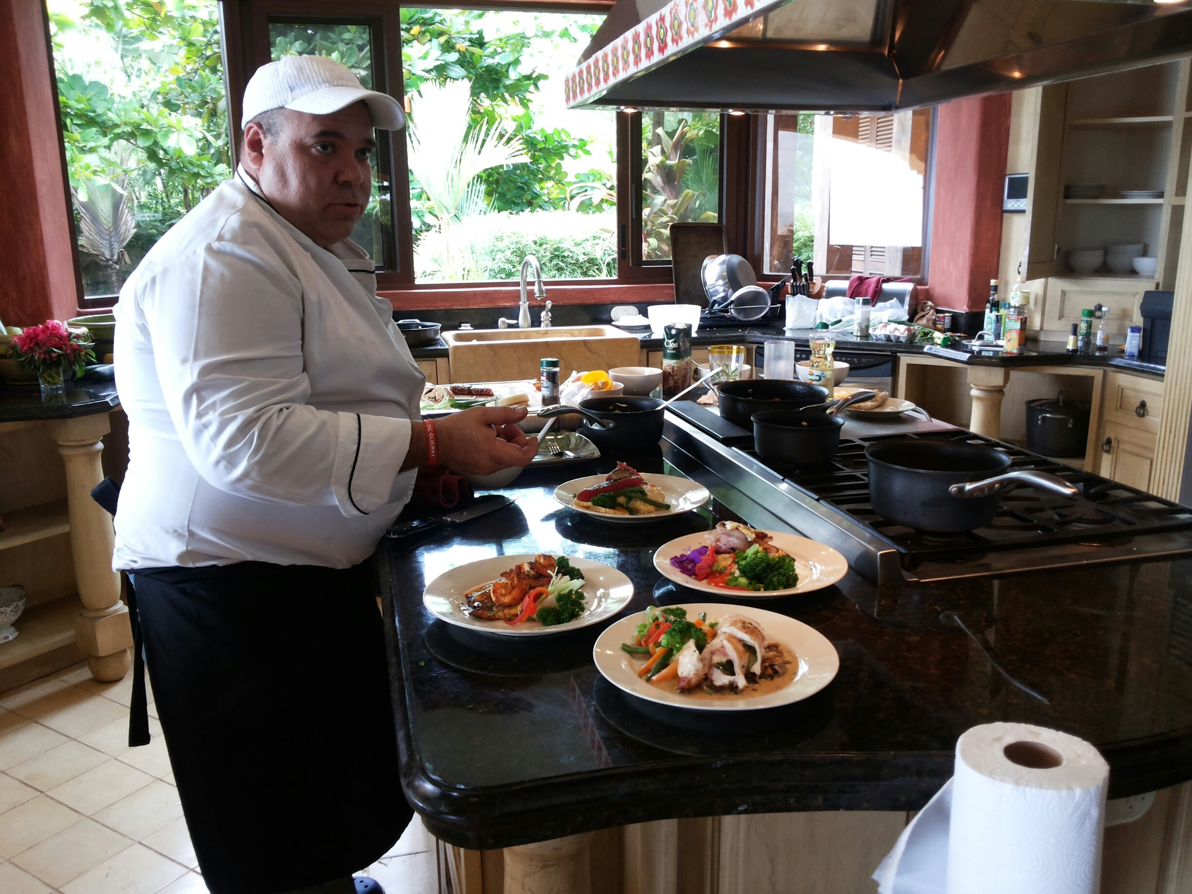 Private chef south pacific costa rica for Costa rica house rental with chef